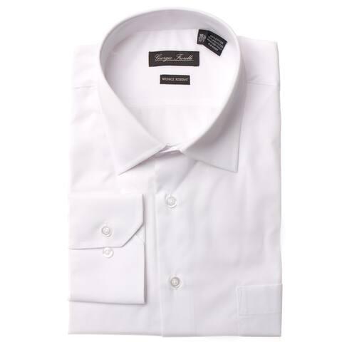 Men's Modern-Fit Dress Shirt, White