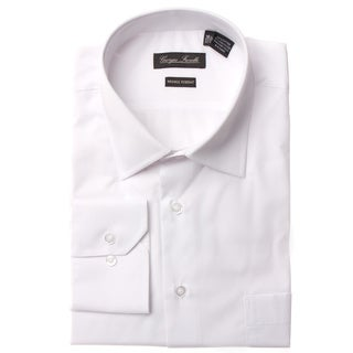 Men's Modern-Fit Dress Shirt, White