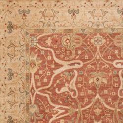 Woven Orange Tutian Rug (5'3 x 7'8) - Thumbnail 1