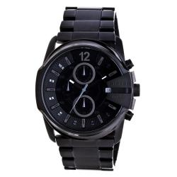 Diesel Men's DZ4180 'Blackout' Stainless Steel Chronograph Watch