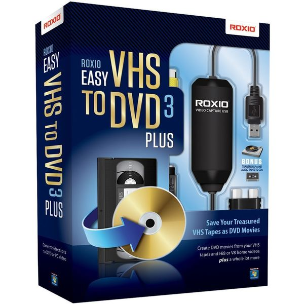 Corel Easy VHS to DVD v.3.0 Plus - Complete Product - 1 User - Standa