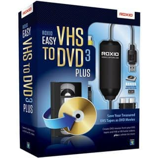 Roxio Easy VHS to DVD v.3.0 Plus - Complete Product - 1 User - Standa|https://ak1.ostkcdn.com/images/products/6485789/Roxio-Easy-VHS-to-DVD-v.3.0-Plus-Complete-Product-1-User-P14078120.jpg?impolicy=medium