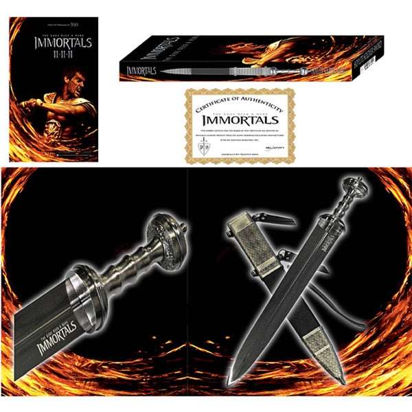 Officially Licensed 'Immortals' 30-inch Theseus Battle Sword