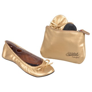 Sidekicks Imported Women's Foldable Ballet Flats