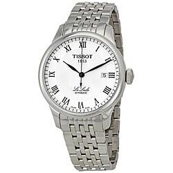 Tissot Men's T41148333 'Le Locle' Silvertone Textured Dial Watch