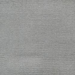 Hand-crafted Solid Grey/Blue Victoria Wool Rug (12' x 15')