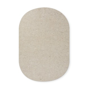 Rotell Felt Square Rug Pad - Grey