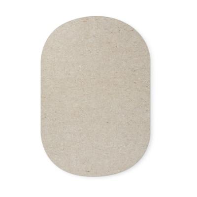 Rotell Felt Square Rug Pad - Grey