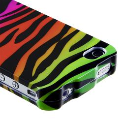 Colorful Zebra Snap-on Case for Apple iPhone 4/ 4S - Thumbnail 1