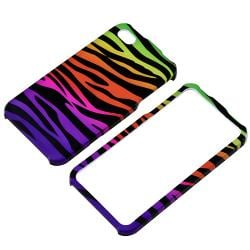 Colorful Zebra Snap-on Case for Apple iPhone 4/ 4S