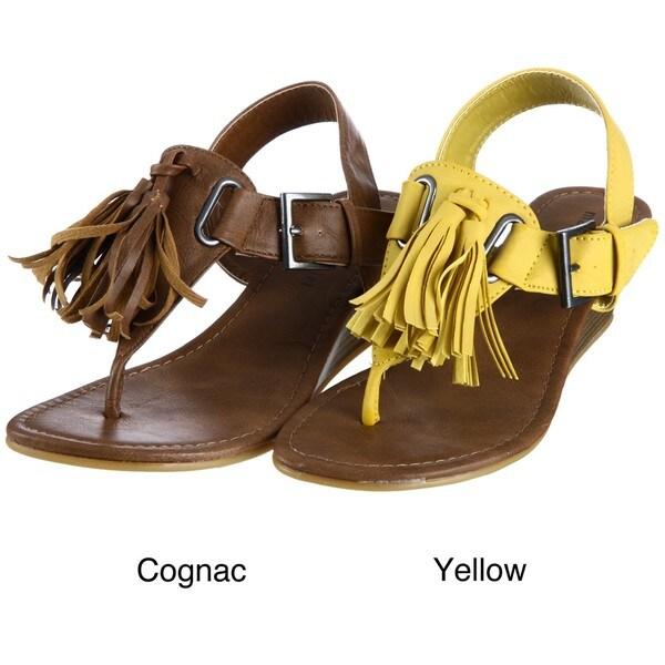 Madden Girl Women's 'Welview' Tasseled Sandals