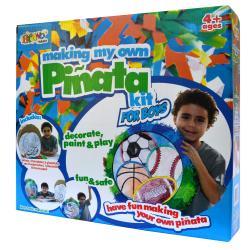 Making My Own Pinata Race Car - Sports Ball - Thumbnail 0