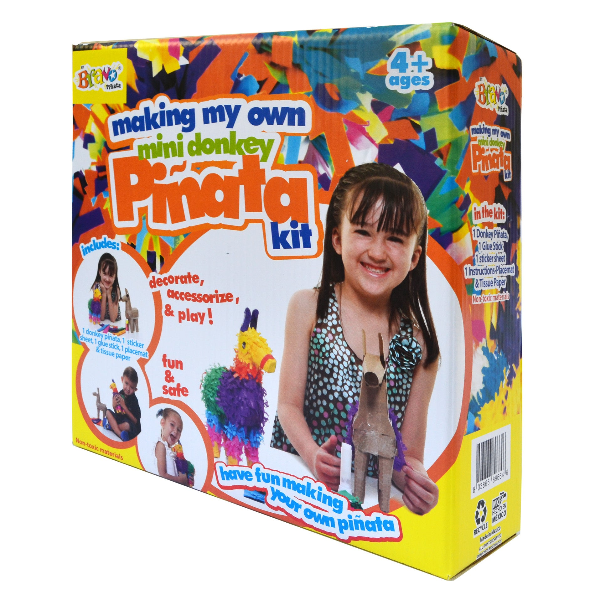 Making My Own Pinata Donkey