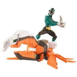 Power Ranger Samurai Beetle Zord and Mega Forest Ranger - Thumbnail 0