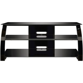 Bell'O High Gloss Black Finish Flat Panel Audio/Video System