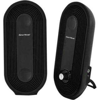 Gear Head SP2500USB 2.0 Speaker System - 3 W RMS - Black