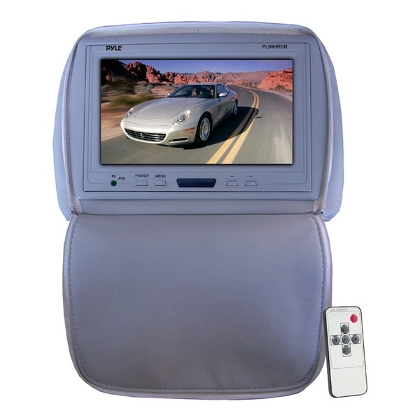 "Pyle PL90HRGR 9"" Active Matrix TFT LCD Car Display - Gray"