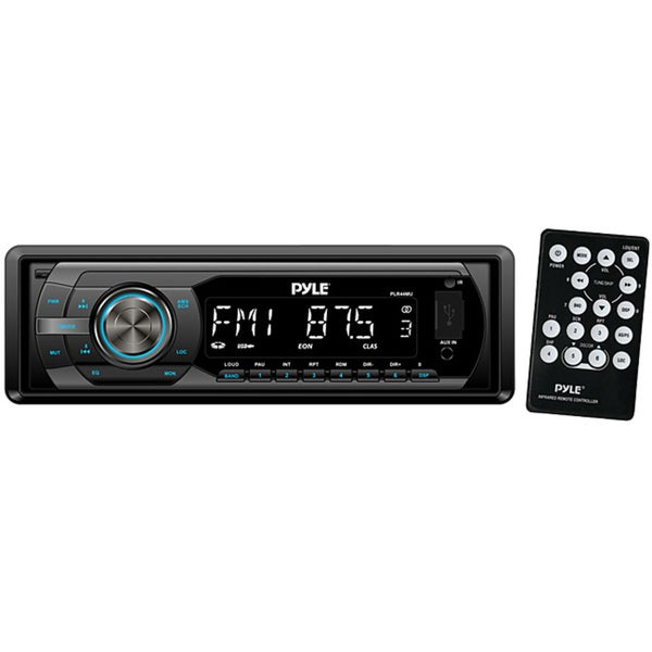 Pyle In-Dash AM/FM-MPX Detachable Face Receiver W/ MP3 Playback USB/SD/Aux Input