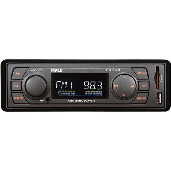 Pyle PLR16MUA Car Flash Audio Player - 160 W RMS - Single DIN