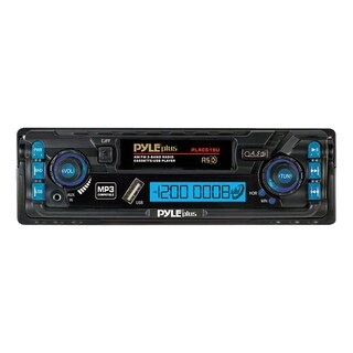 Pyle PLRCS19U Car Cassette Player - 200 W RMS - iPod/iPhone Compatibl