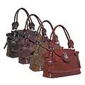 Donna Bella Designs 'Kingdom Key' Faux Leather Shoulder Bag