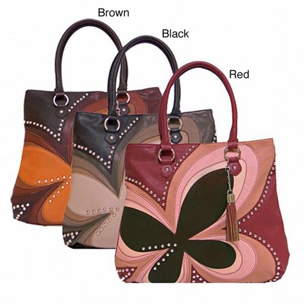 Donna Bella Designs 'Fluttina' Shoulder Bag