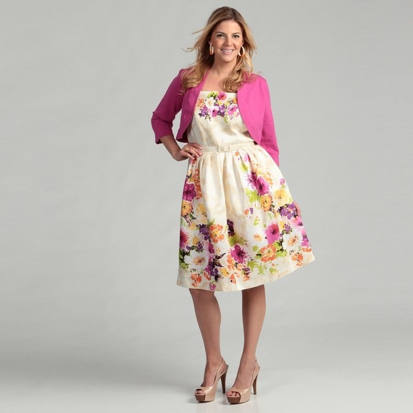 Shop Jessica Howard Womens Plus Size Pink Dress Free Shipping
