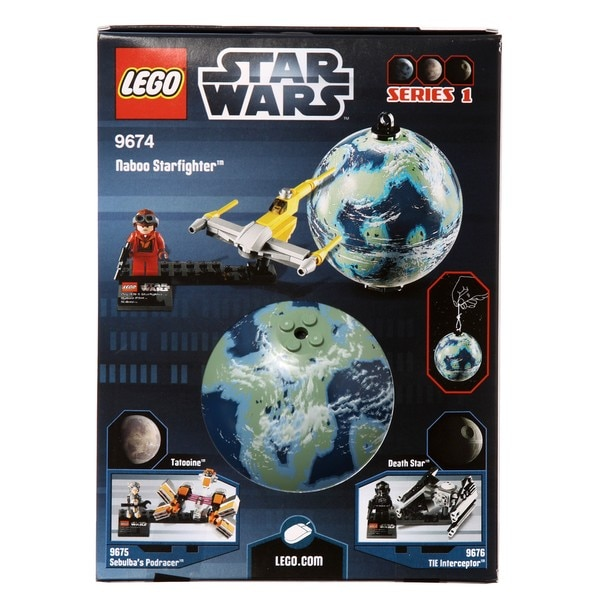 LEGO 9674 Naboo Starfighter and Naboo Play Set