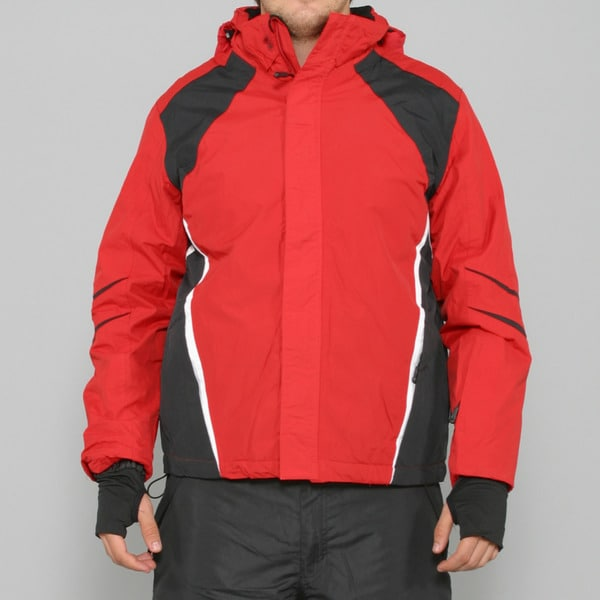 Crivit Sports Men's Red Tech Ski Jacket