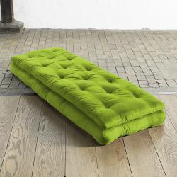 Fresh Futon 'Buckle Up' Lime Futon Chair