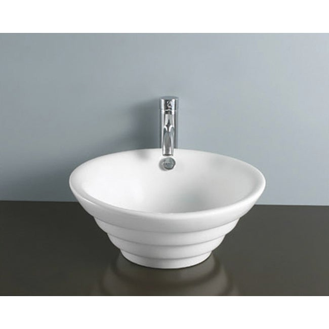 Vessel Round Vitreous China Sink