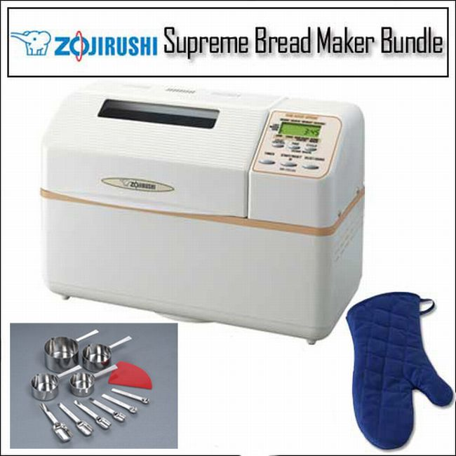 Zojirushi Home Bakery Supreme Breadmaker/ Measuring Spoon Kit