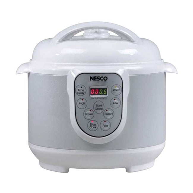 Nesco 4-quart Digital 4-in-1 Pressure Cooker