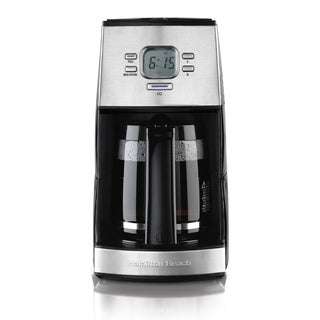 Hamilton Beach Black Ensemble Programmable 12-cup Coffee Maker