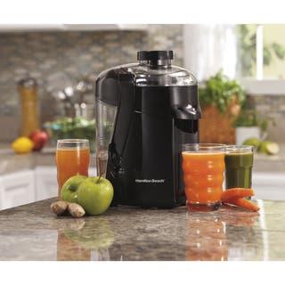 Hamilton Beach Black HealthSmart Juice Extractor|https://ak1.ostkcdn.com/images/products/6492915/P14083953.jpg?impolicy=medium