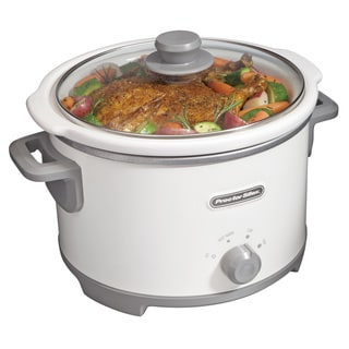 Proctor-Silex White 4 Quart Slow Cooker