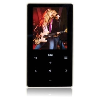 RCA M6204 4 GB Black Flash Portable Media Player