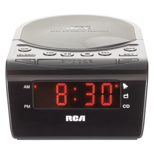 RCA RC5610 Desktop Clock Radio - Stereo