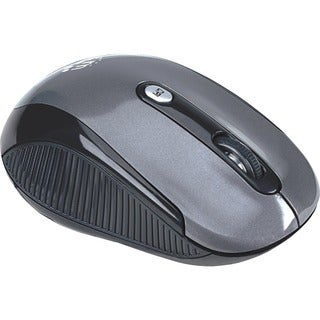 Manhattan Wireless Optical USB Mouse, 2000 dpi, Black/Silver