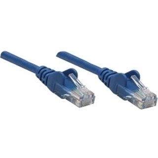 Intellinet Patch Cable, Cat5e, UTP, 14', Blue