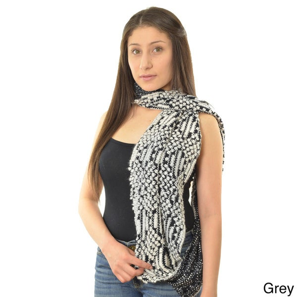 LA77 Women's Cozy Knit Infinity Scarf