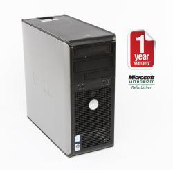 Dell Optiplex 740 AMD A64x2 2.6GHz CPU 4GB RAM 750GB HDD Windows 10 Pro Minitower PC (Refurbished) - Thumbnail 1