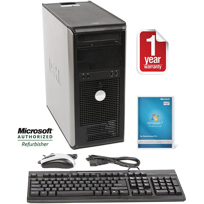 Dell Optiplex 740 AMD A64x2 2.6GHz CPU 4GB RAM 750GB HDD Windows 10 Pro Minitower PC (Refurbished)