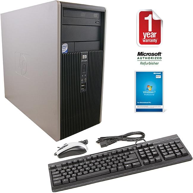 HP Compaq DC5800 Intel Core 2 Duo 2.66GHz CPU 4GB RAM 750GB HDD Windows 10 Pro Minitower PC (Refurbished)