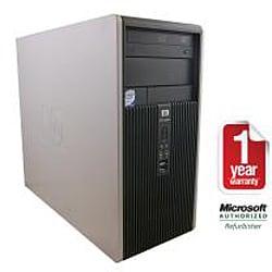 HP Compaq DC5800 Intel Core 2 Duo 2.66GHz CPU 4GB RAM 750GB HDD Windows 10 Pro Minitower PC (Refurbished) - Thumbnail 1