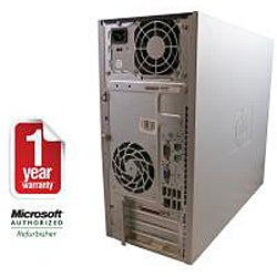 HP Compaq DC5800 Intel Core 2 Duo 2.66GHz CPU 4GB RAM 750GB HDD Windows 10 Pro Minitower PC (Refurbished) - Thumbnail 2