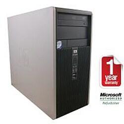 HP Compaq DC5800 Intel Core 2 Duo 2.53GHz CPU 2GB RAM 160GB HDD Windows 10 Home Minitower PC (Refurbished)