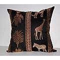 RLF Home Tropical Stripe Decorative Pillow