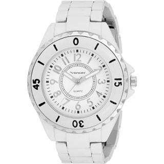 Vernier Women's 'V11028' Polar White Watch