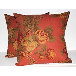 RLF Home Brentwood Decorative Pillows (Set of 2) - Thumbnail 0